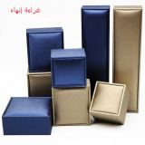 Deluxe Style High End PU Leather Jewelry Ring Box Jewellery Display case
