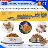 Automatic animal pet dog food fish feed pellet making machine production plant