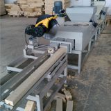 Wood Pallet Feet Block Extruder