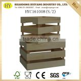 FSC cheap natural unfinished plywood crates wholesale