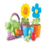 Hot Wholesale Cheap Kids Educatinal Toy Set Garden Plastic Kids Watering Can
