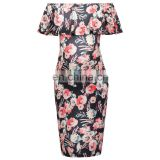 Grace Karin Sexy Women's Off Shoulder Hips-Wrapped Maternity Bodycon Pencil Dress CL010607-1