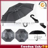 21 inch extra thick fabric 2 Fold Umbrella Customized