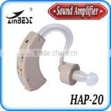 VOHOM Behind the Ear Sound Amplifier Adjustable Tone Hearing Aids for Hearing Impired Problem HAP-20