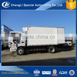 New design cooling FRP material cold 10 tons foton refrigerated van truck