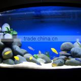 black polishing aquarium stone for fish tank