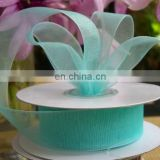 2015 fashion gift flower wrapping ribbon colorful organza satin ribbon