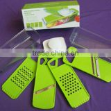 5 in 1 Multifunctional Plastic Manual Vegetable Slicer