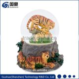 For Animal boutique tiger Snow globes