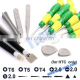 14 in 1 Screwdriver Repair Opening Tools Kit for HTC