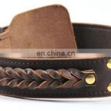Hot sale leather dog collars and leashes