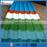competitive price gauge thickness galvanized corrugated steel sheet for metal construction