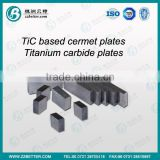 TiC based cermet plates/Blocks for cutting