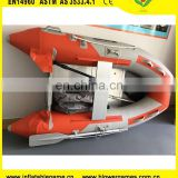 Cheap stock wholesale 2.3m Aluminum floor 2 persons sport fishing inflatable boat