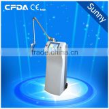 Treat Telangiectasis Fractional Co2 Laser Professional Equipment/home Use Co2 Fractional Laser