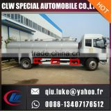 FAW/FOTON 7500liters stainless steel truck milk tank for sale