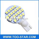 10X T10/921/194 RV Car Trailer Interior 12V LED Bulbs 24 SMD Light