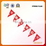 Custom Christmas decorative bunting flag