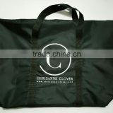strong capacity promotional polyester tote bag for garments