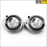 Silvery Mini Retractable Male and Female Healthy Waist BMI OEM/ODM Service Customized Body Mass Measuring Tape