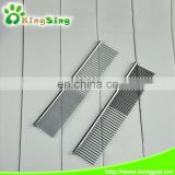 High Quality Stainless Steel Pet Comb, Dog Grooming Tools Factory