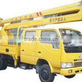 Dongfeng Mini 14MT high-altitude operation truck with lift hook