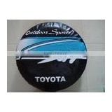 polyester pu coated silver coated spare tire cover waterproof wheel cover