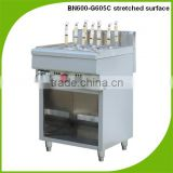600 combination oven stainless steel gas pasta/noodle cooker BN600-G605C stretched surface with cabinet frame