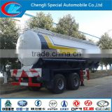 China direct factory chemical tank truck China brand fuel truck 3axles oil transportation trailer