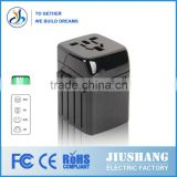 jiushang <b>UK</b>/ EU US/ AU 2500MA french <b>plug</b> <b>adaptor</b> lighten to usb <b>plug</b> <b>adaptor</b> cable <b>plug</b> <b>adaptor</b>