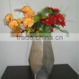 Metal Flower Vases For Interior Decoration