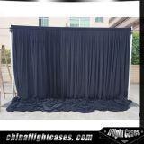 stage decoration balck backdrop design