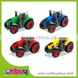 Wholesale assembly farm set diecast model toy cars metal