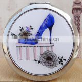 High Heel Shoe Compact Mirror Makeup X2 Magnification,DubaaFashion.com 2015