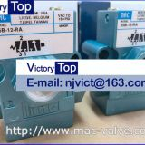MAC 55B-12-RA solenoid valve 3-way