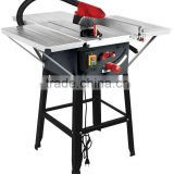 "10"" Woodworking Machinery Table Saw with 3 steel extension table"