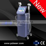 PZ Laser hot in Germany 3 wavelength 2 handles ce approved 808nm diode laser hair removal machine