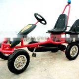 2 seat pedal go kart for kids with mp3 music