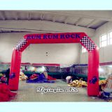 Red Start Line Inflatable Sports Arch for Outdoor Event