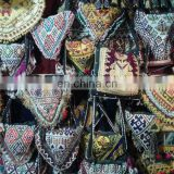 Afghan Kuchi vintage beaded shouder triangle bags purses KP-00002