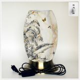 Qin Yuan art desk lamp, desk lamp of custom, creative desk lamp, decoration lamp, LED lamp (Da025)