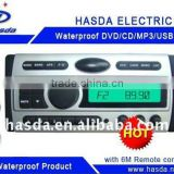 Waterproof marine audio cd Player