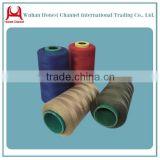 hubei China professional ring polyester sewing thread 100 polyester spun yarn from China Hanchuan factory in China