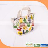 Alibaba wholesale reusable canvas shopping bags printing