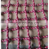 hot-sale children outdoor playground climbing braided rope nets made in China