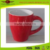 2015 china new product unique shape ceramic coffee mugs for sale