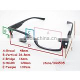 Wholesale new china plastic reading glasses with led light