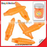 Plastic Carrot Shape Whistle Promotional Toy Gift Party Favors China