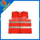 Chinese hi vis vest orange safety vest