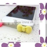 Butterfly Knot shape earphone dust plug